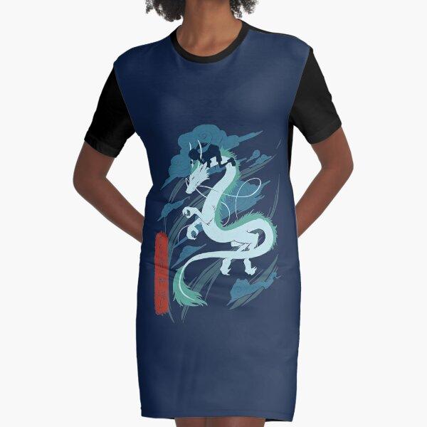 Dragon Graphic T-Shirt Dress