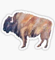The buffalo Sticker