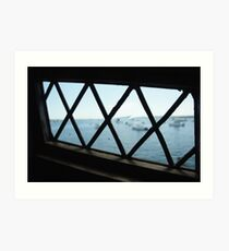 See Too Much Seascape Art Print