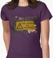 Dangerous! Women's Fitted T-Shirt