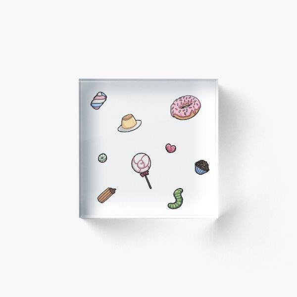 Sweets Acrylic Block