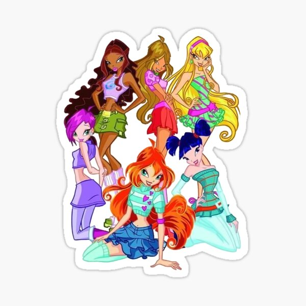 Winxclub for real fans Sticker