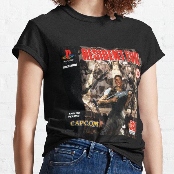 Resident Evil Original Destressed T-shirt classique