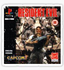 Resident Evil Original Destressed Sticker