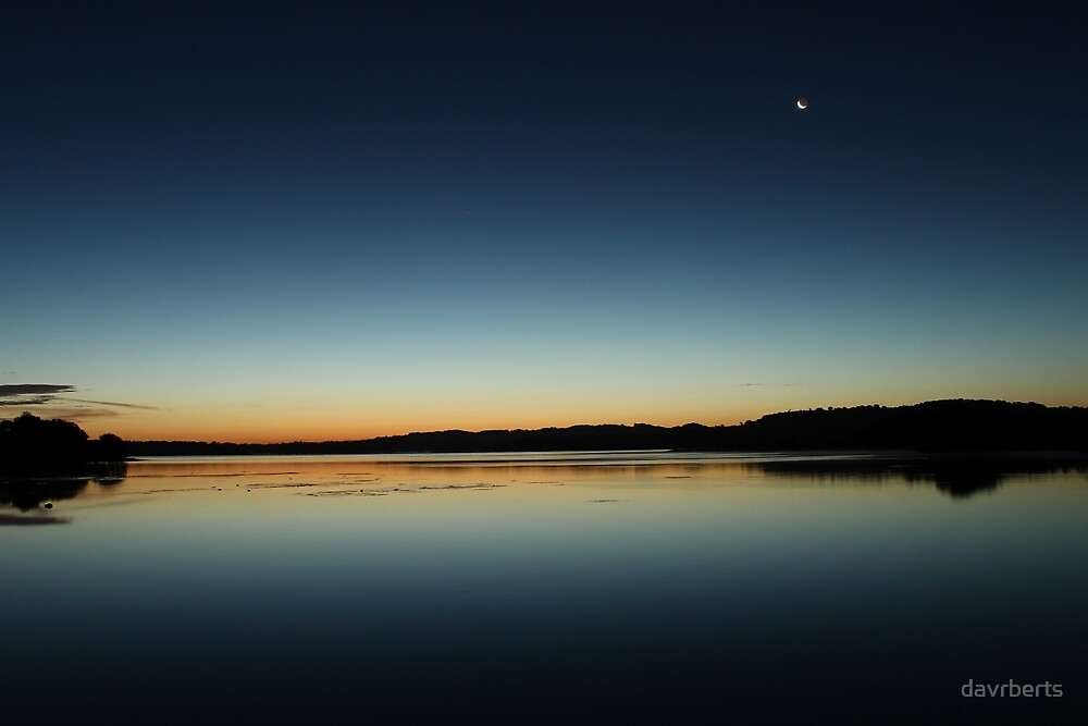 Sunrise over Chew Valley by davrberts
