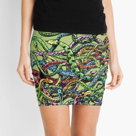 snakes Mini Skirt