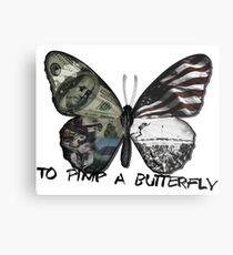 To Pimp A Butterfly Metal Print