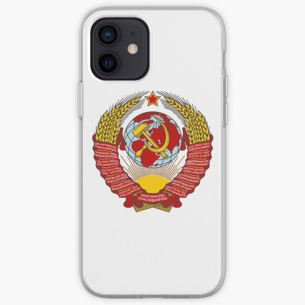 State Emblem of the Soviet Union iPhone Soft Case