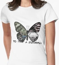 To Pimp A Butterfly Women's Fitted T-Shirt