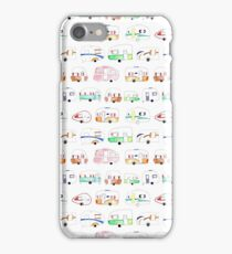 Vintage Caravans iPhone Case/Skin