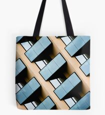 Rectangles and Reflection Tote Bag