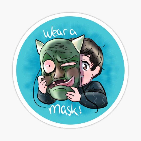 Wear a mask! Sticker