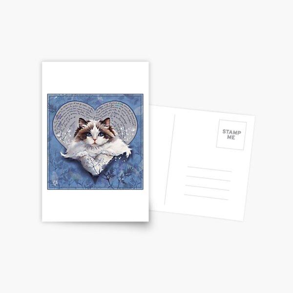 Valentine's cats 3 Carte postale