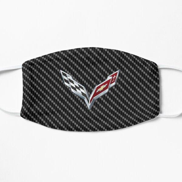 C7 logo on Carbon Background Flat Mask