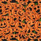 Halloween Pumpkins by JudithzzYuko