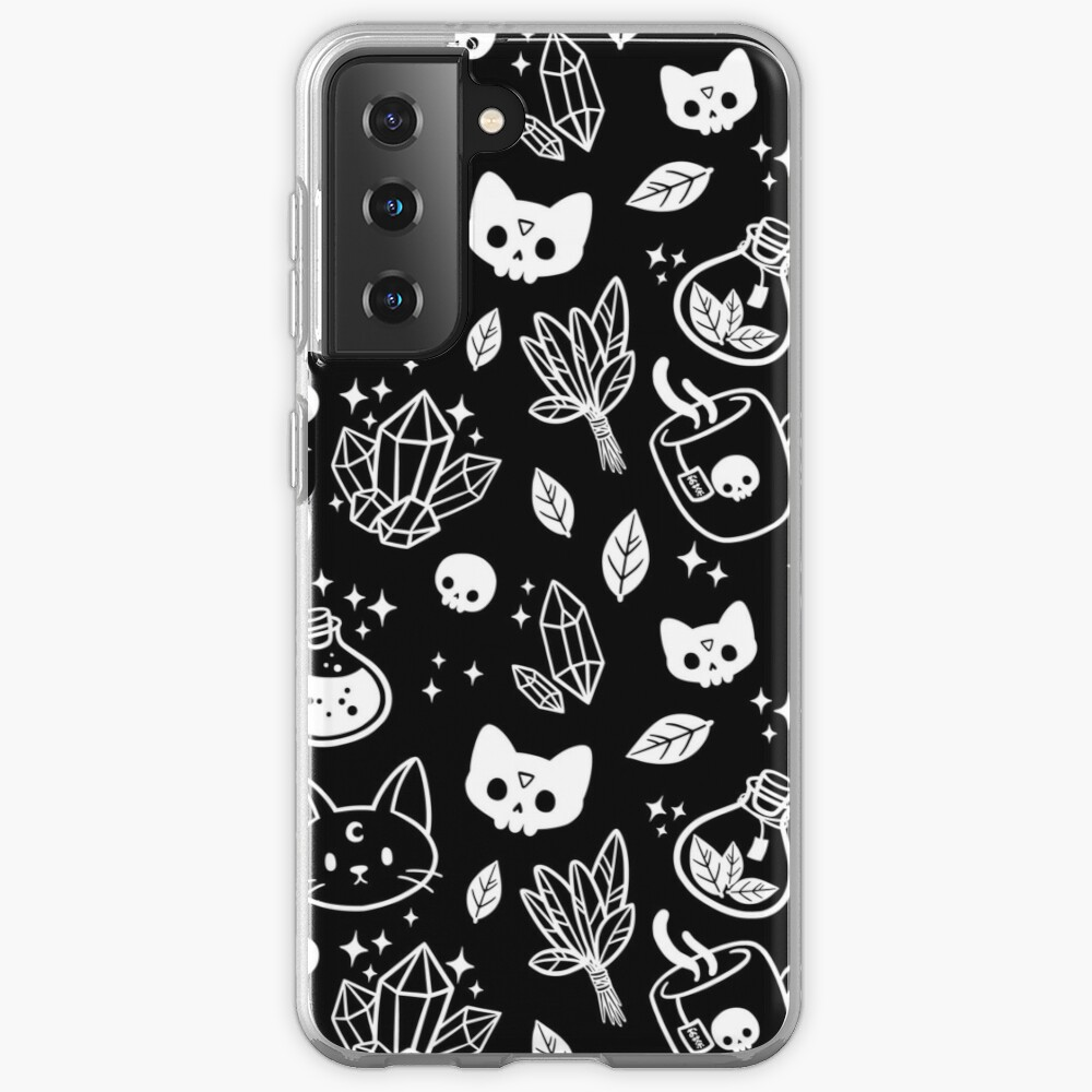 Herb Witch // Black and White | Nikury Case & Skin for Samsung Galaxy