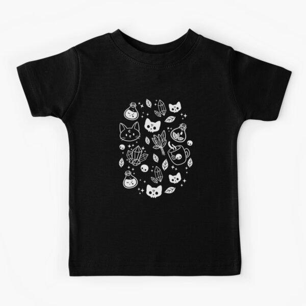Herb Witch // Black & White | Nikury Kids T-Shirt