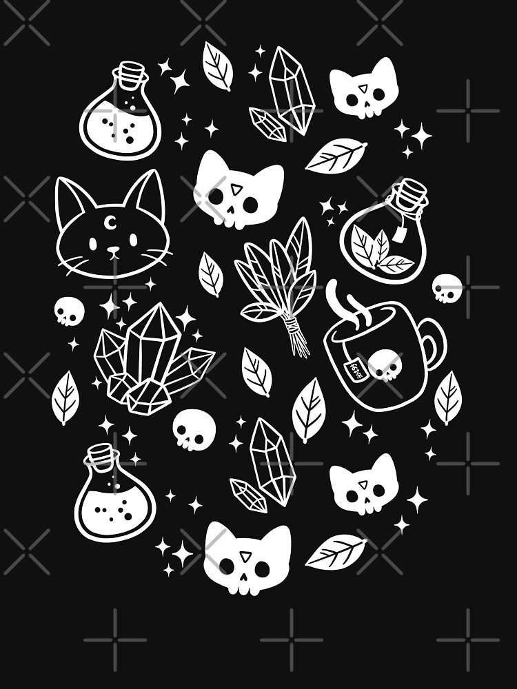 Herb Witch // Black and White   Nikury by nikury