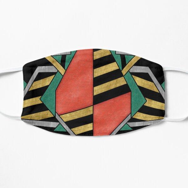 Dragon's Egg - Geometric Abstract Design Flat Mask