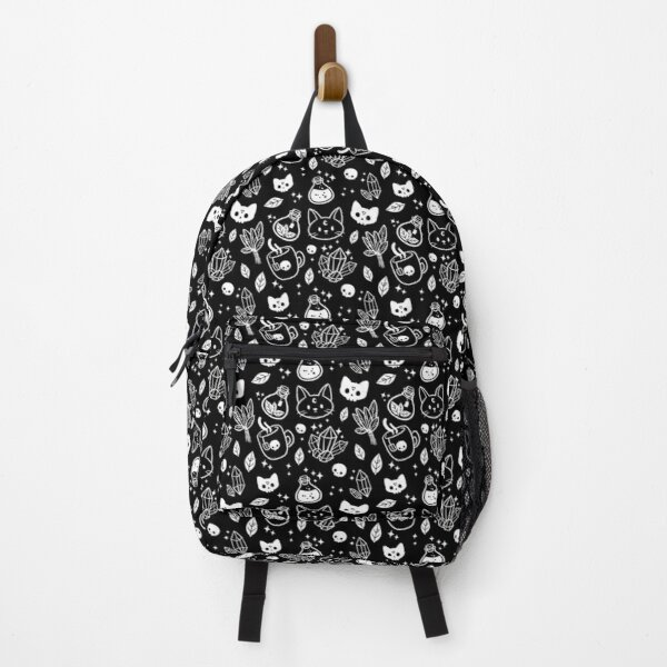 Herb Witch // Black and White | Nikury Backpack