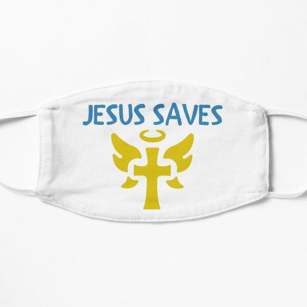 Jesus Saves Flat Mask