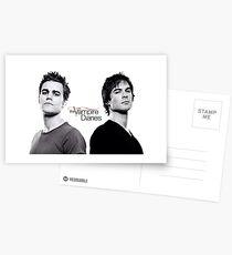 The vampire diaries Salvatore Brothers  Postcards