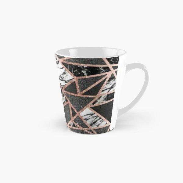 Triangle gold pattern Tall Mug