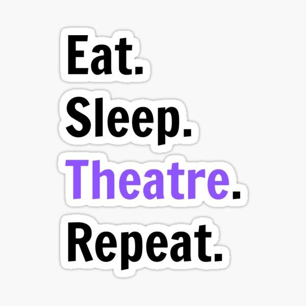 Theatre Kid Stickers Redbubble