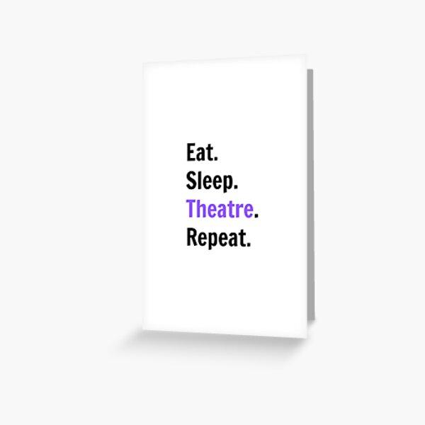 Theatre Kid Greeting Card