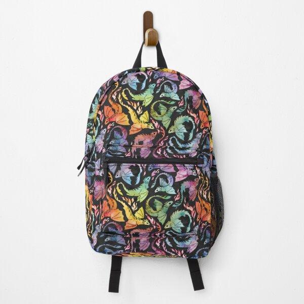 Dragon fire dark rainbow Backpack