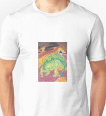 Allosaurus vs Stegosaurus Unisex T-Shirt