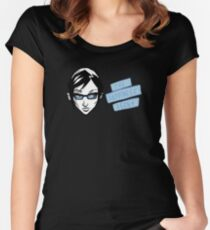 The Happiness Agent Logo Women's Fitted Scoop T-Shirt