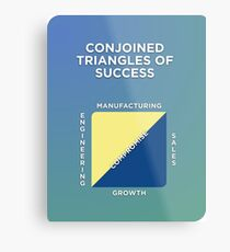 Conjoined Triangles of Success Metal Print