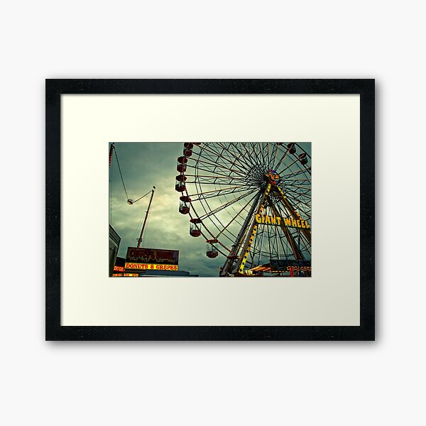 Donuts and Crepes - The Hoppings, Newcastle Framed Art Print