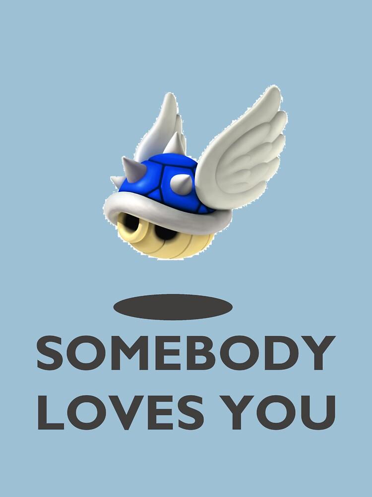 Blue Shell Mario Kart   Unisex T-Shirt