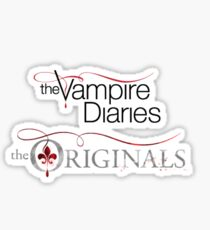 The vampire diaries and the originals  Sticker