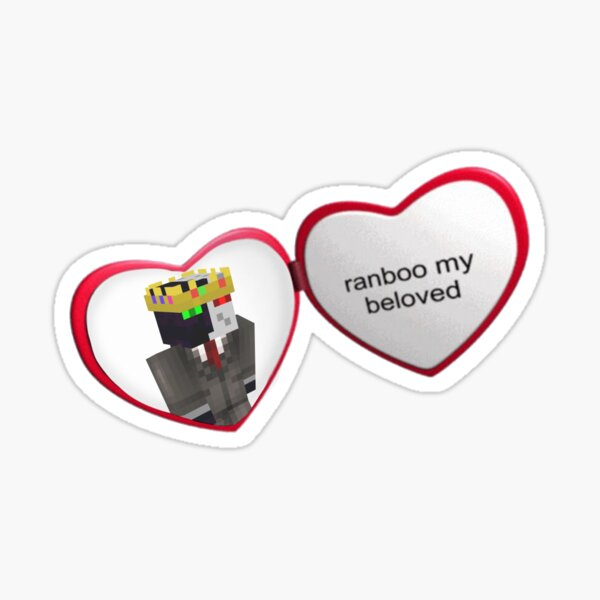 ranboo my beloved Sticker