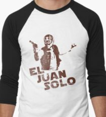 El Juan Solo Men's Baseball ¾ T-Shirt