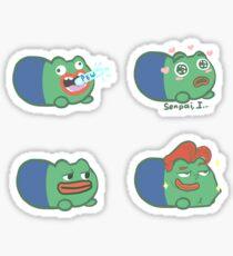 Precious little Pepe Beans Sticker
