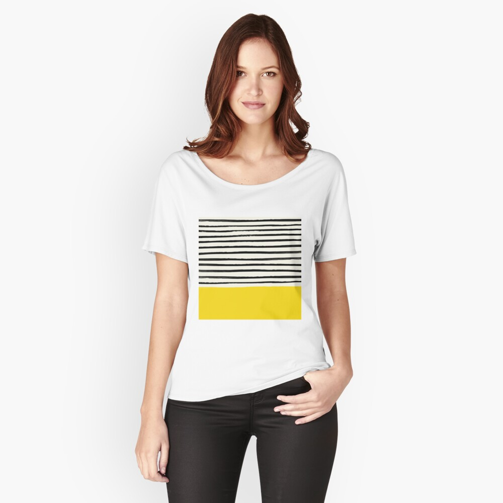 Sunshine x Stripes Relaxed Fit T-Shirt