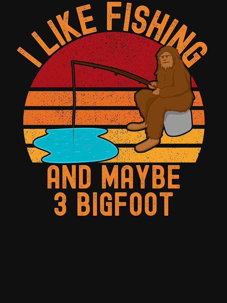 Bigfoot fishing, I like fishing and maybe 3 bigfoot by ds-4