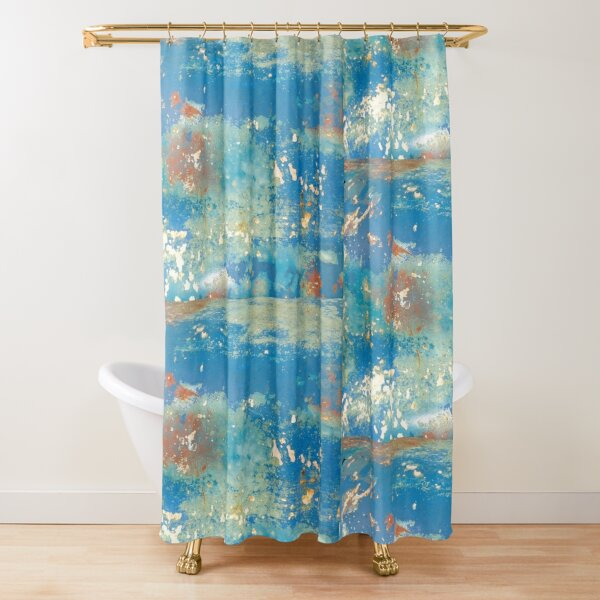 FILL YER BOOTS Shower Curtain