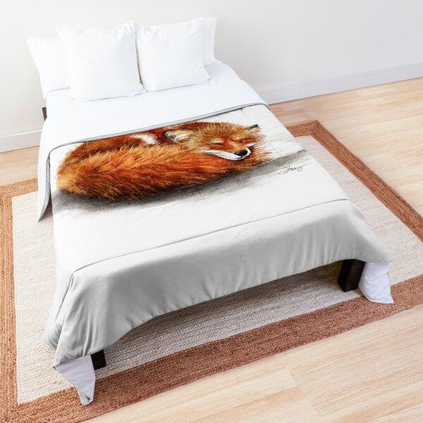 Sleepy Fox Comforter