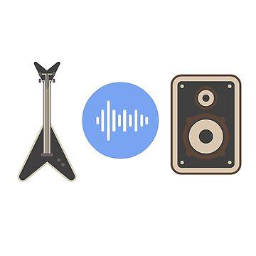 Guitar Sound & Speaker by Dozi