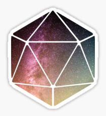 Galaxy of possibilities  Sticker