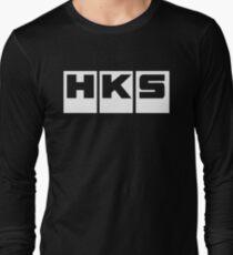 HKS Car Tuning White T-Shirt