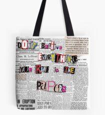 Controversy  Tote Bag