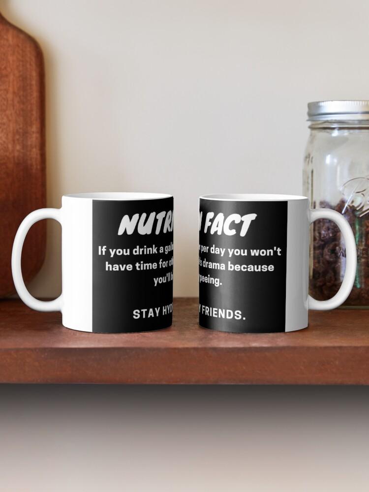 Alternate view of Nutrition Fact Mug