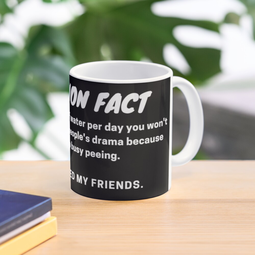 Nutrition Fact Mug