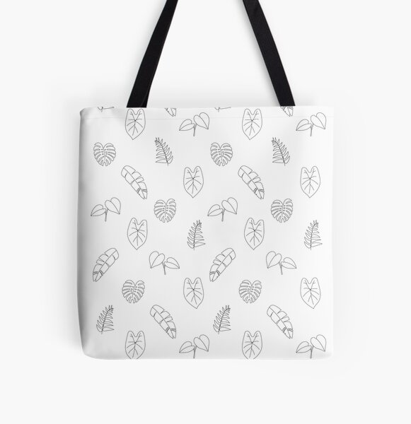 Leaves of a Urban Jungle All Over Print Tote Bag